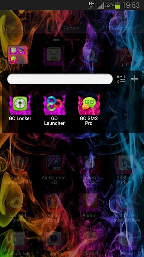 玩免費個人化APP|下載ランチャーテーマ煙色GO app不用錢|硬是要APP