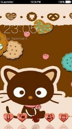 巧克力猫手机主题——畅游桌面