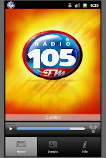 FM 105/JARAGUA DO SUL/SC - screenshot thumbnail