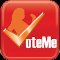 VoteMe Now logo