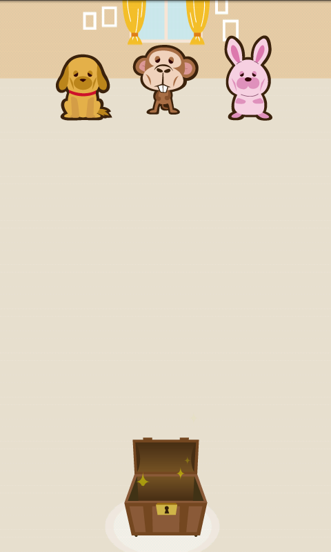 Sweets and hungry animals- screenshot