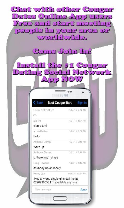 cougar dating app go fisse
