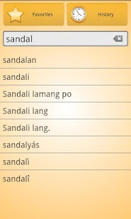 English Tagalog Dictionary Fr - screenshot thumbnail