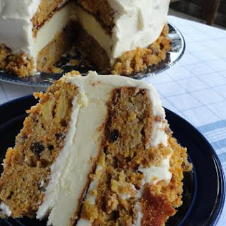 Skyscraper Carrot Cake/Cheesecake