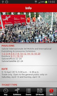 iSaloni 2013 – official APP - screenshot thumbnail