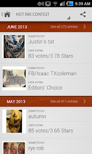 Tattoo Gallery - screenshot thumbnail
