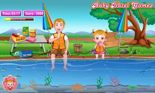 Baby Hazel Fishing Time- screenshot thumbnail