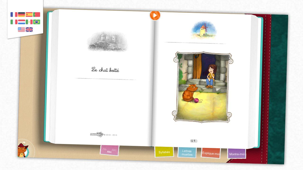 Puss in Boots - Storybook- screenshot