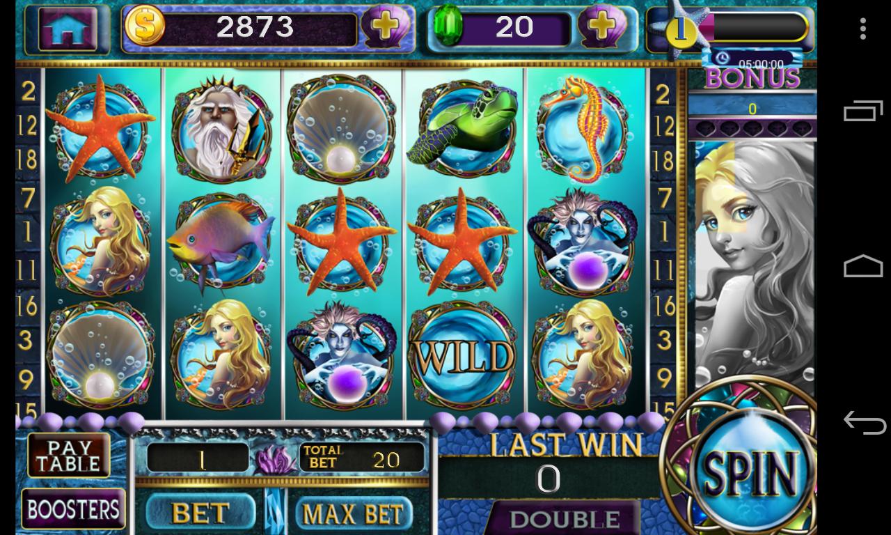 Slots mermaid mystical