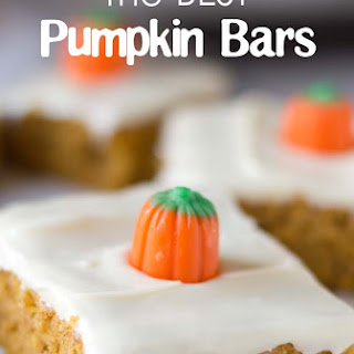 The BEST pumpkin bar