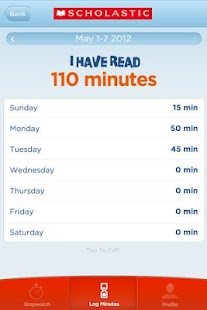 Scholastic Reading Timer - screenshot thumbnail