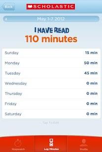 Scholastic Reading Timer - screenshot thumbnail