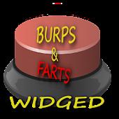 Fart And Burp Widget Button