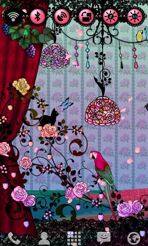 Fairy Night Garden Widget- screenshot