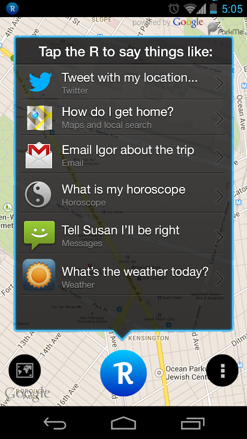 Robin - the Siri Challenger- screenshot