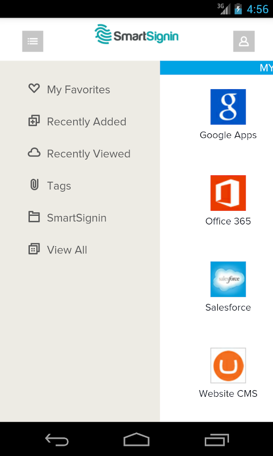 Smartsignin- screenshot