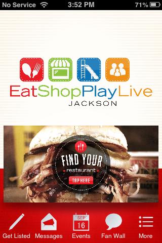Eat Shop Play Live Jackson
