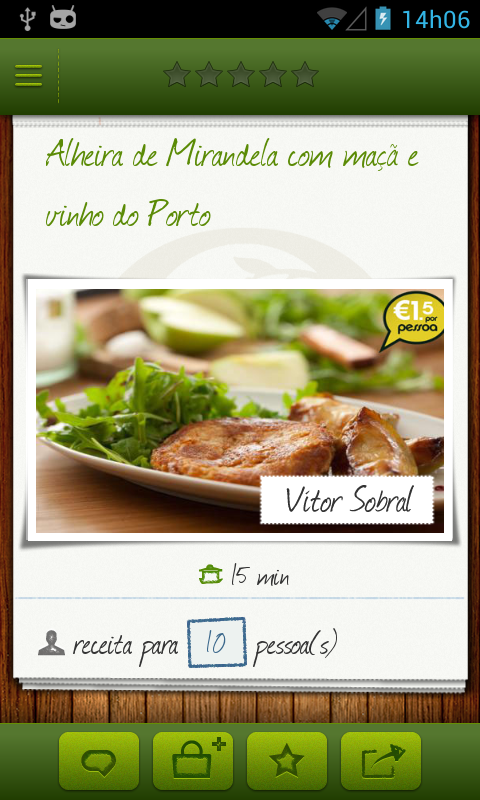 Receitas 15qb - screenshot