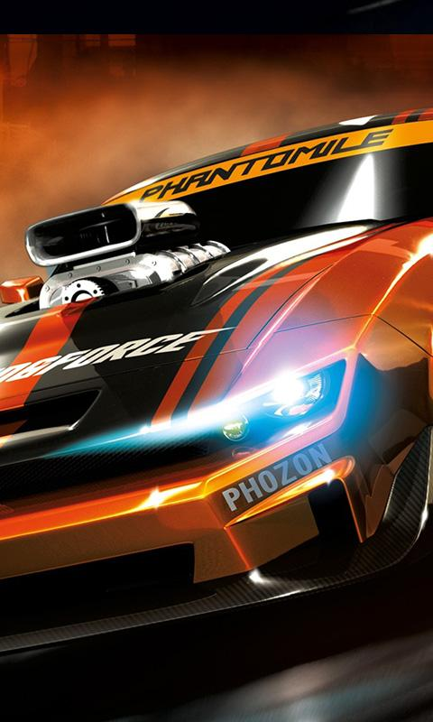 Racing Cars Live Wallpaper Screenshot