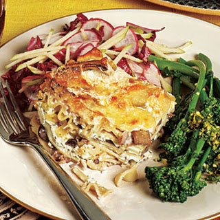 Truffled Wild Mushroom Lasagna