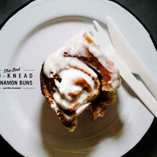 The Best No-Knead Cinnamon Bun.