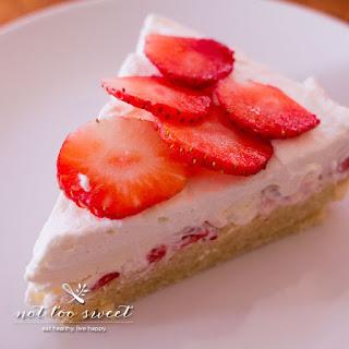 Low Carb Strawberry Shortcake.