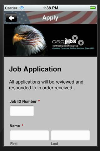 CSGJobs - Bill Storjohann - screenshot