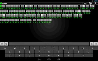 Screenshot of Enigma - Cryptograms