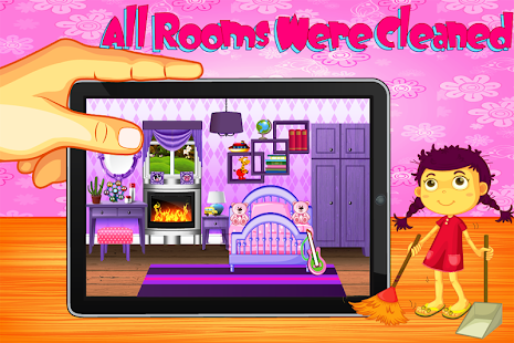 baby rooms cleaning game screenshot thumbnail