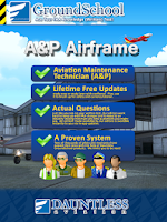 Screenshot of FAA A&P Airframe Test Prep