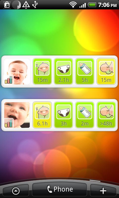 Baby Daychart- screenshot