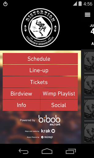 Distortion 2014 - Official App