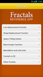 Fractals Reference App - screenshot thumbnail