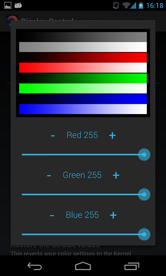 Nexus Display Control (ROOT)- screenshot