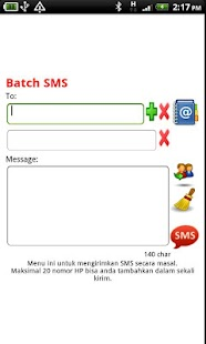 Free SMS Indonesia - screenshot thumbnail