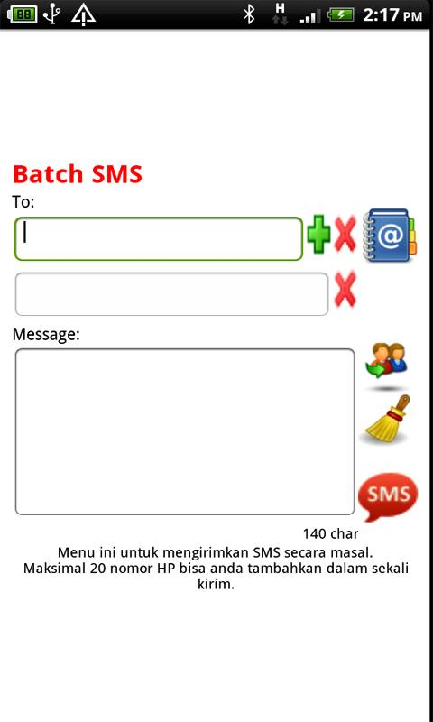 Free SMS Indonesia - screenshot