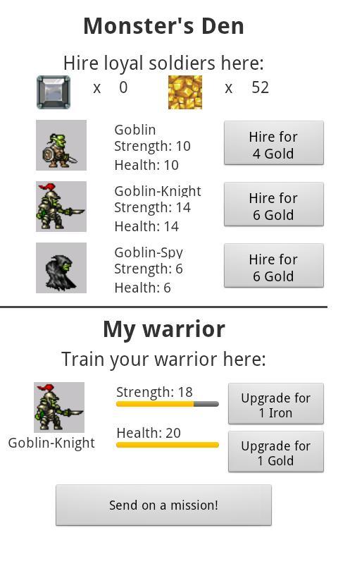 DTU GoblinsNGold - screenshot