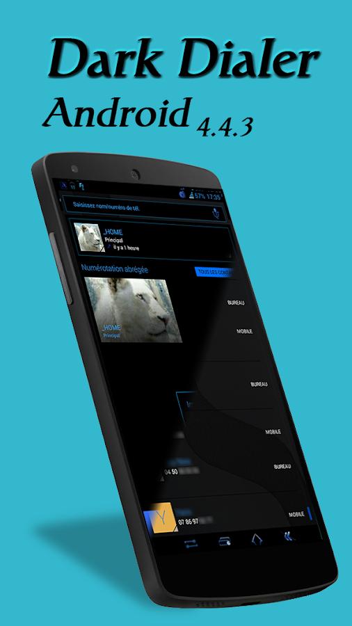 ReBorn Blue : CM & AOSP Theme - screenshot