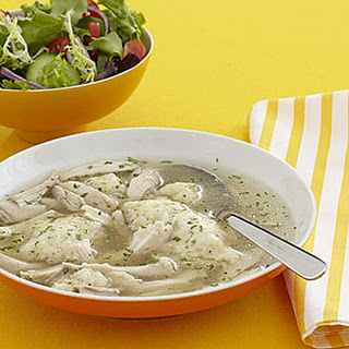 Chicken with Herbed Dumplings