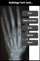 Screenshot of Radiology Tech Certification