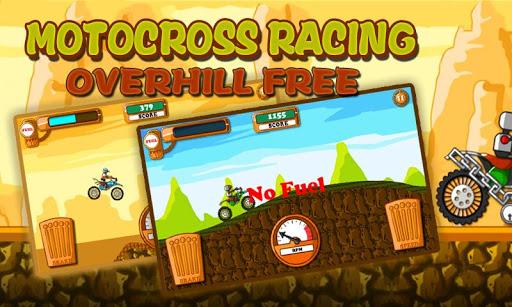 Motocross Racing Uphill