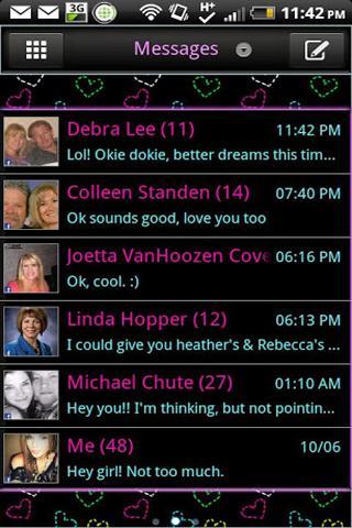 GO SMS - Heartful