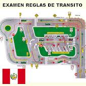Examen Reglas Transito Peru