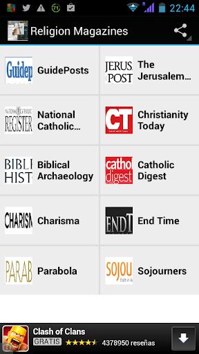 Religion Magazines