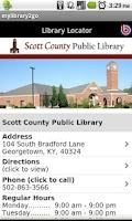 Screenshot of Scott County Public Library