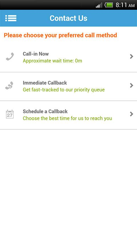 BCNEPA Self-Service Mobile- screenshot