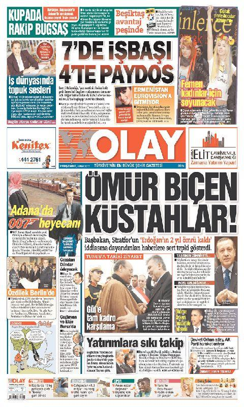 Turkey Newspaper - screenshot