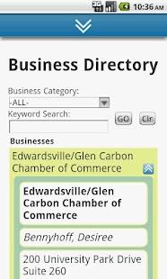 EdwardsvilleGlenCarbon Chamber- screenshot thumbnail