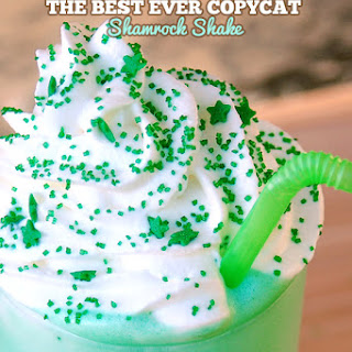 Best Ever Copycat McDonald's Shamrock Shake