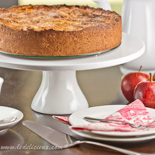 Apple Breton Cake
